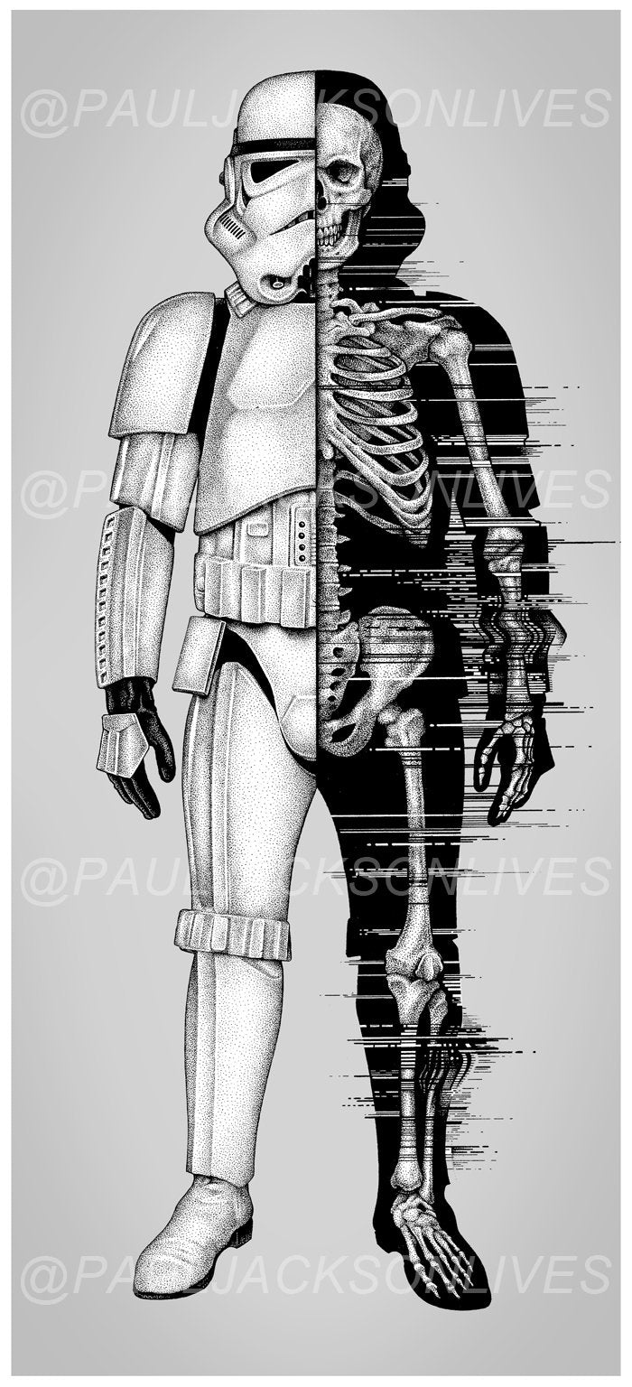 'Death Trooper' Giclee Print