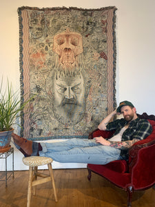 "'Gods Ego' - Woven Tapestry 60x80"" *LIMITED TIME ONLY*"