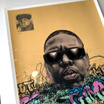 BIGGIE 'HAND EMBELLISHED' VARIANT SCREENPRINT 1/1