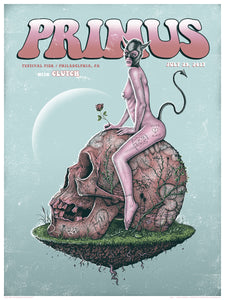 PRIMUS Philly Show Poster