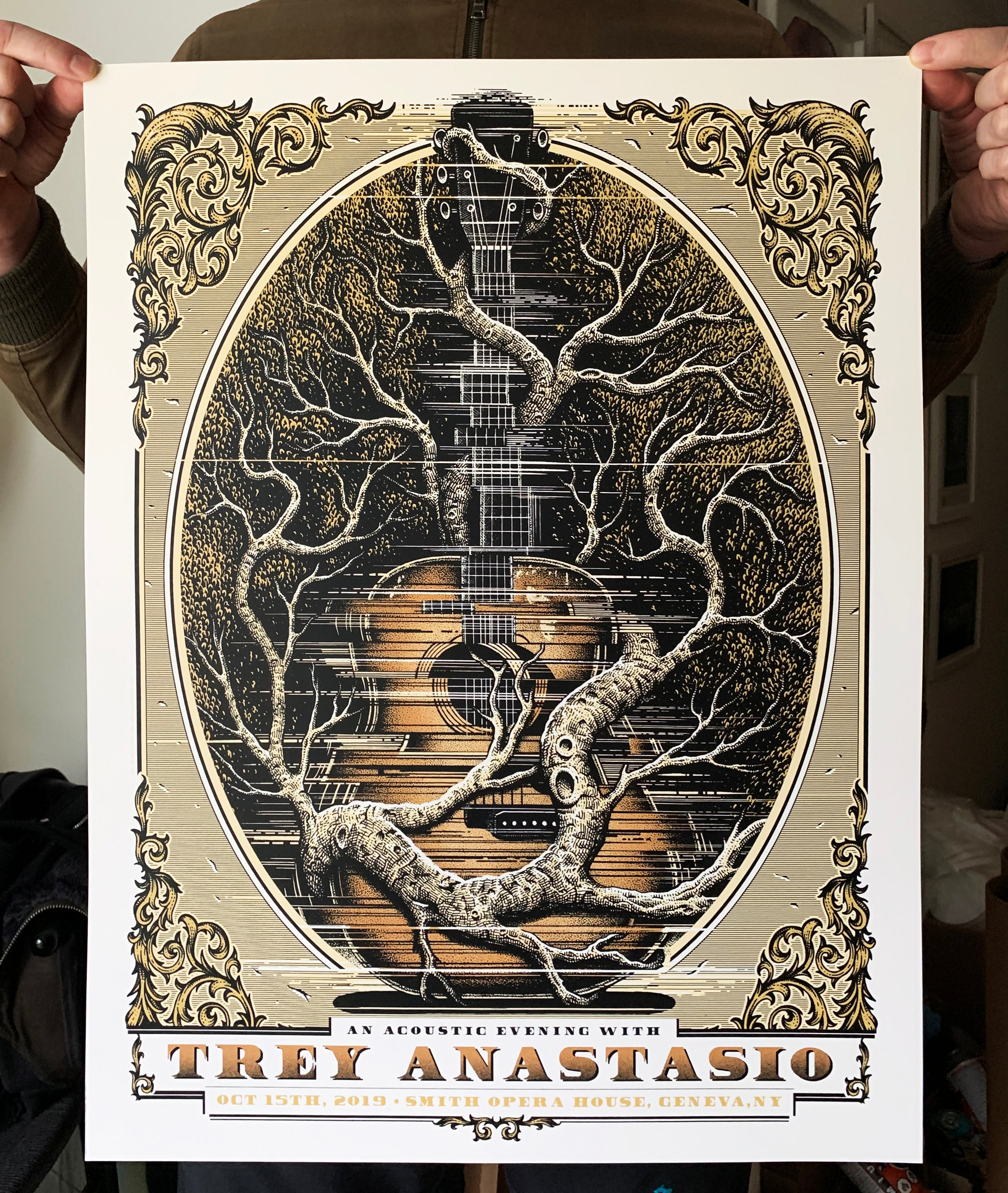 Trey Anastasio Geneva screen printed poster - regular.