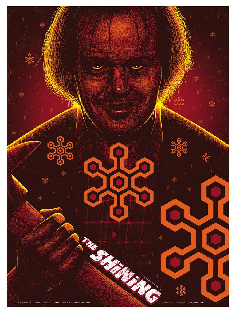 The Shining Screenprint