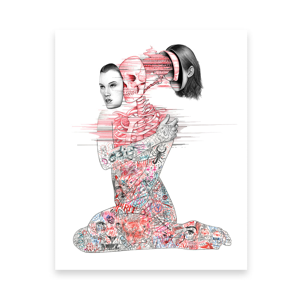'Untitled' Art Print Giclee
