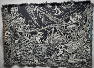 "'Dead & Co' - Woven Tapestry 72x54"" *LIMITED TIME ONLY*"