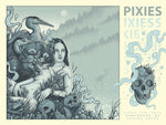 PIXIES Vancouver show screenprint