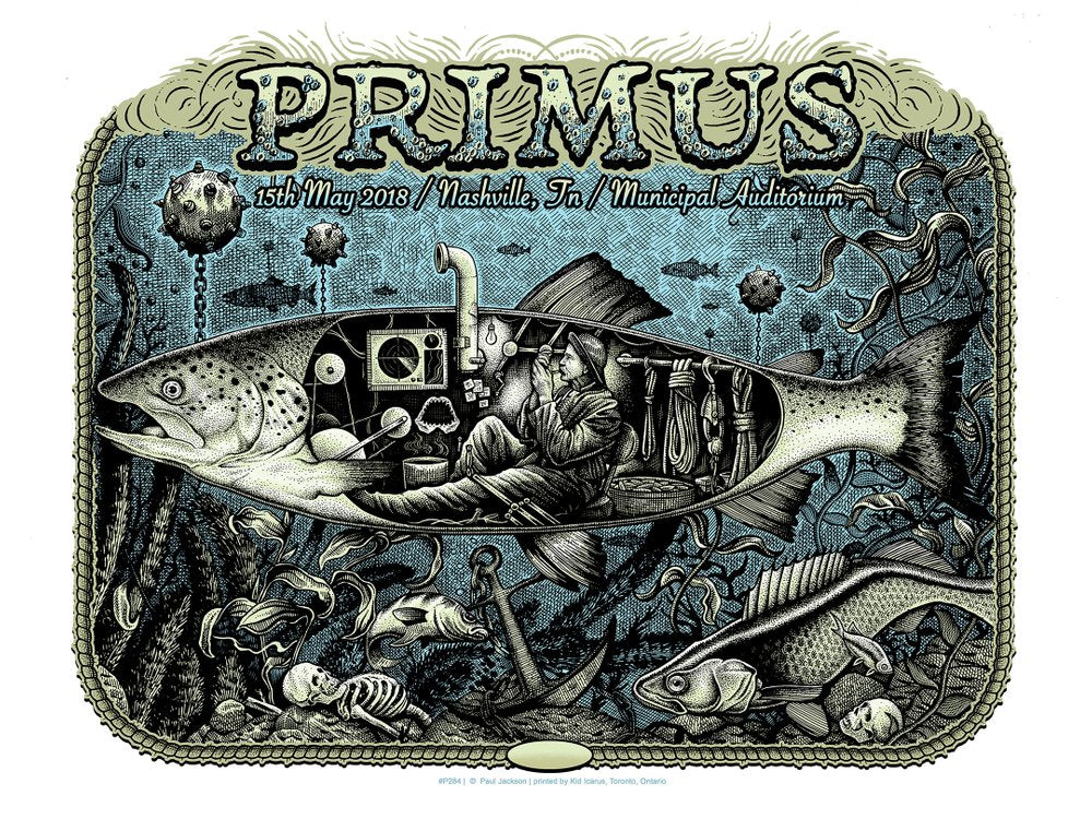 PRIMUS - NASHVILLE SCREENPRINT
