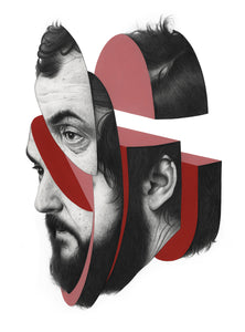 'Kubrick' Archival Giclee print - Limited to 50.