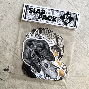 Sticker 'Slap Pack' (B)