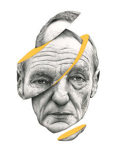 'Burroughs' - Archival Giclee print - limited to 50