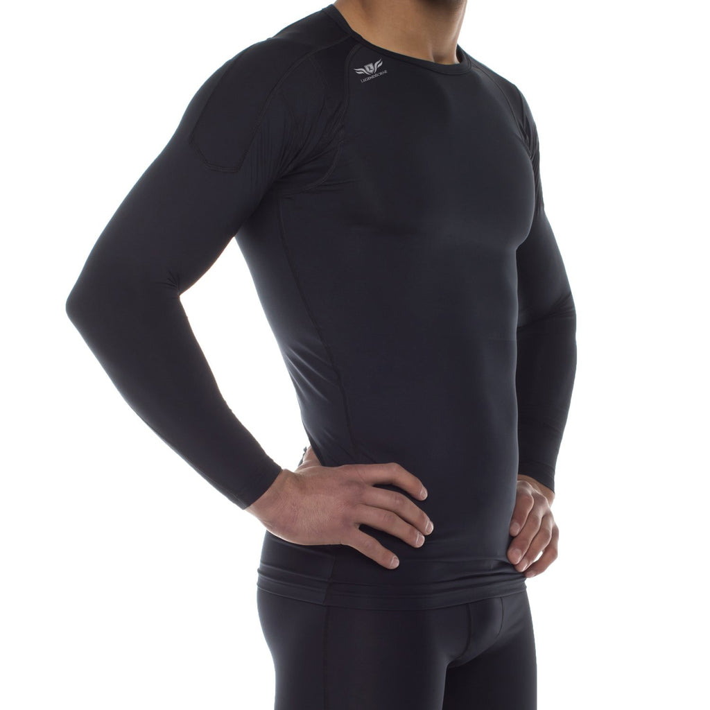 LEGENDBORNE RECOVERY HYBRID LS COMPRESSION SHIRT