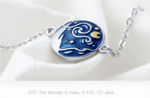 """The Starry Night"" Bracelet"