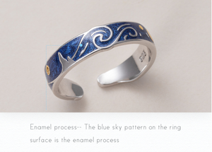 """The Starry Night"" Ring"