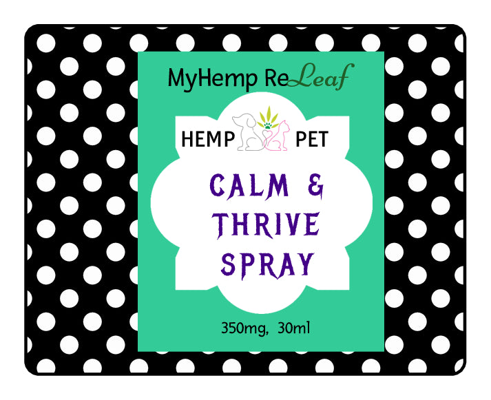 Pet Calm & Thrive Hemp THC Free