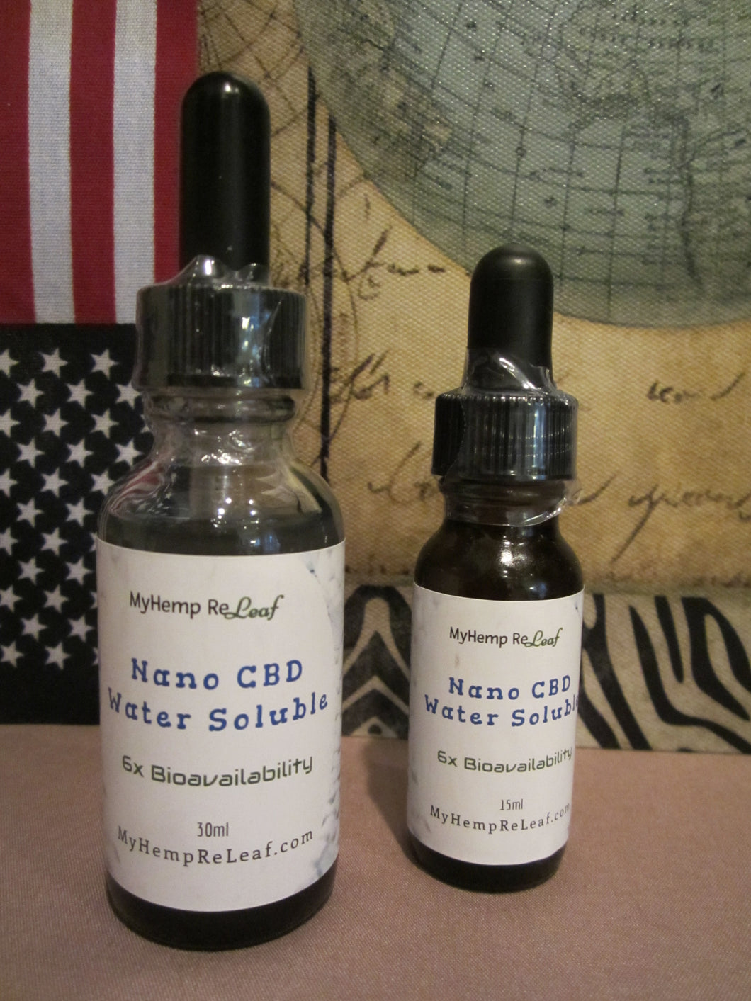 Nano CBD NC2 Water Concentrate 30ml THC-Free (choose for 20% savings)