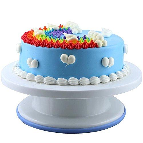 Cake Decoration Tools Set Decorating Turn Full Rotating Round Table With Accessories