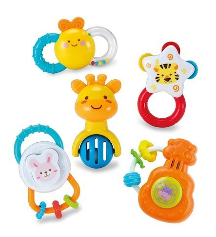 Kids Birthday Return Gifts BABY RATTLE PACK OF 6