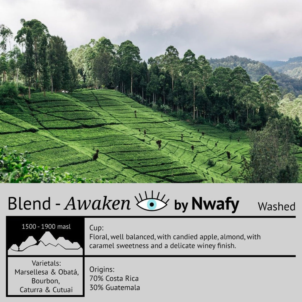 Blend - Awaken by Nwafy - Emirati Coffee Co