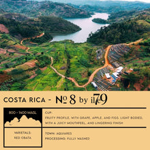 Load image into Gallery viewer, COSTA RICA - No. 8 by il7e9 - Emirati Coffee Co