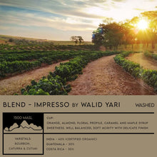 Load image into Gallery viewer, BLEND - Impresso by WALID YARI - Emirati Coffee Co