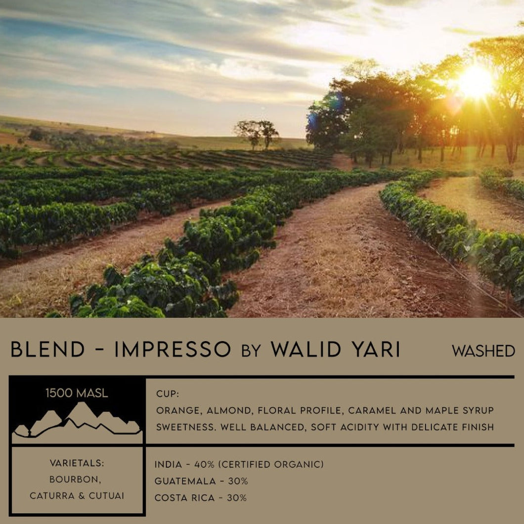 BLEND - Impresso by WALID YARI - Emirati Coffee Co