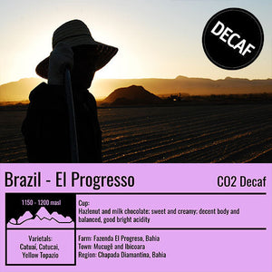 Brazil - El Progresso (DECAF) - Emirati Coffee Co