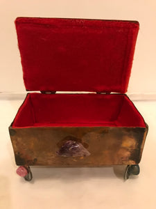 Jeweled Stone Box
