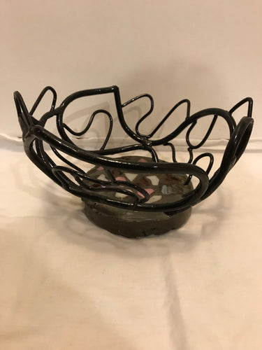 Metal Wire Bowl II