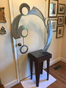 Abstract Metal Art