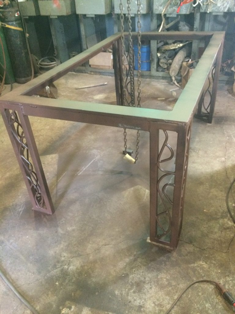 Metal Table Base