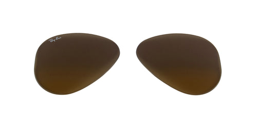 RB3025 | RB3025L - Lenses - Brown/Silver