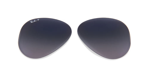 RB3025 - Lenses - Blue/Grey Polarized