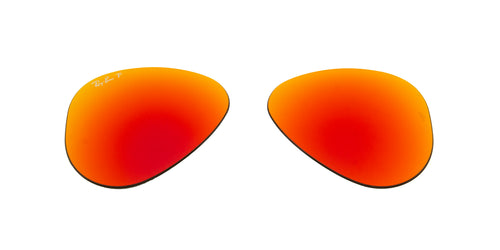 RB3025 - Lenses - Brown Mirror Red 112/4D Polarized