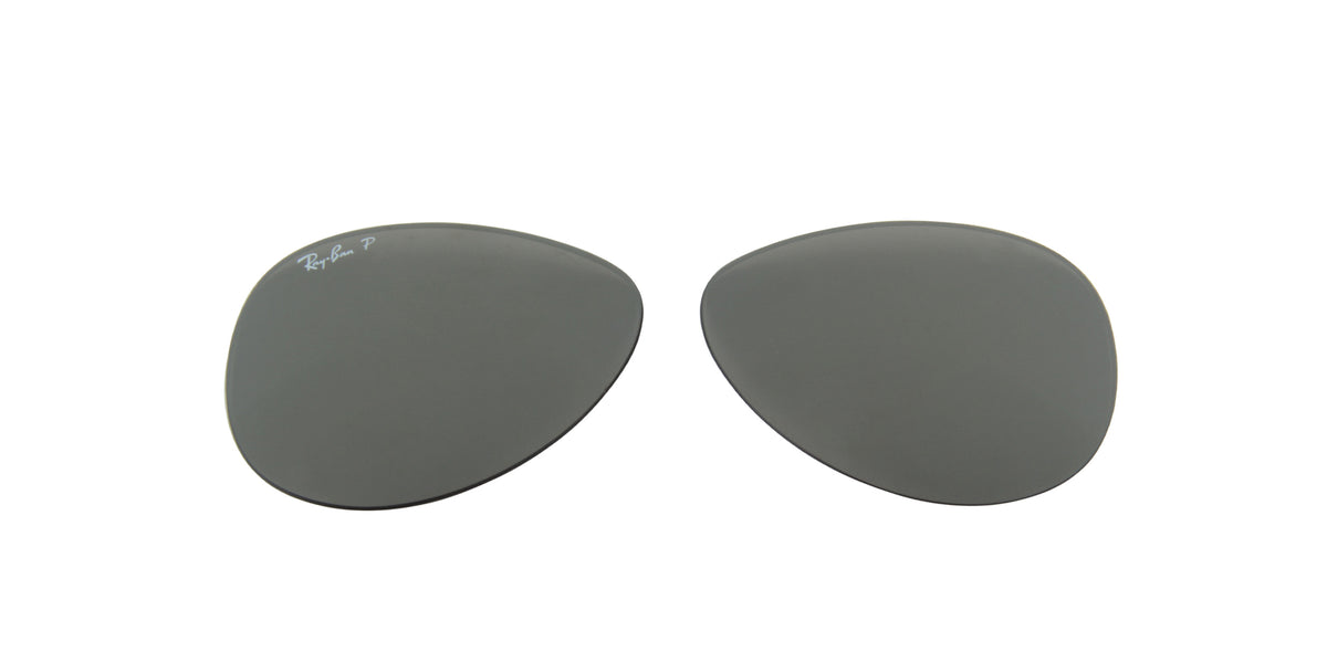 RB8313 - Lenses - Grey Mirror Black Polarized 002/K7