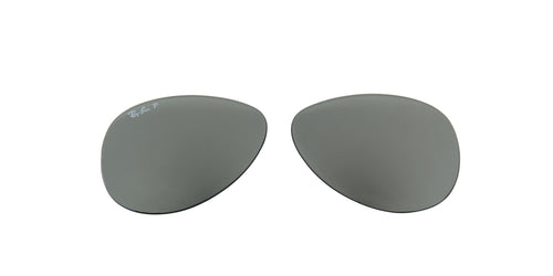 RB8313 - Lenses - Blue Mirror Silver Polarized 004/K6