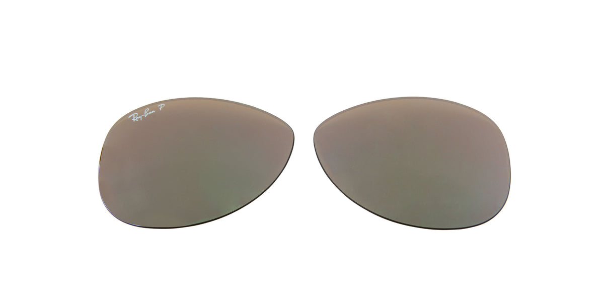 RB8301 - Lenses - Brown Mirror Gold Polarized 004/N3