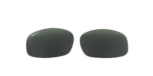 RB3445 - Lenses - Dark Green Polarized 002/58