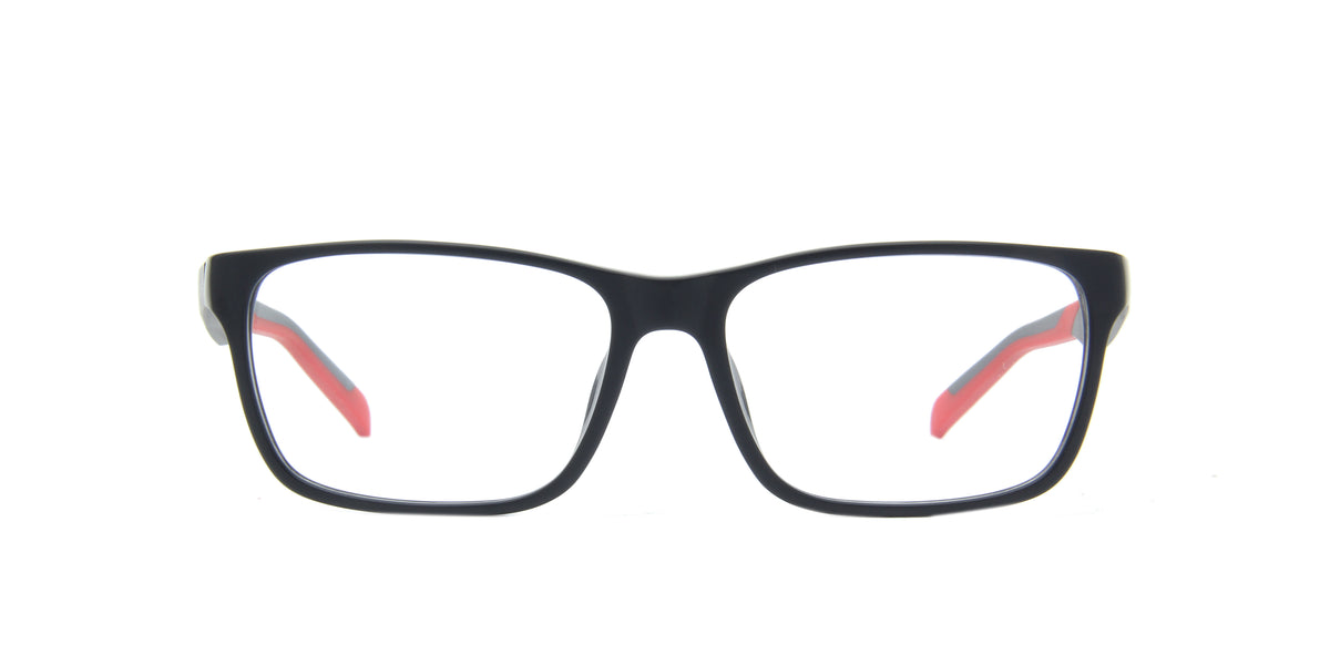Tagheuer - Tag B Urban Black Square Men Eyeglasses - 57mm