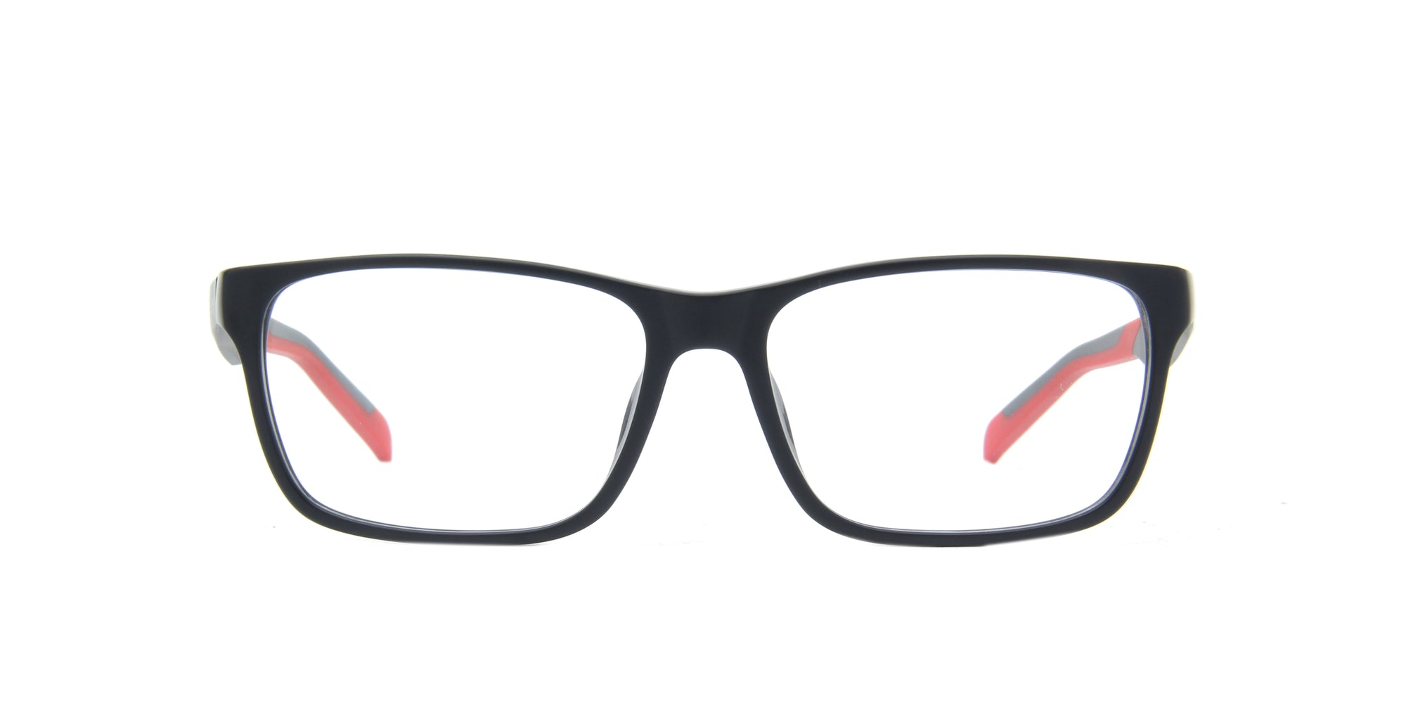 Tag Heuer - Tag B Urban Black Square Men Eyeglasses - 57mm