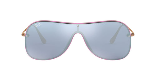Ray Ban - RB4311-N Violet Shield Women Sunglasses - mm