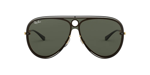 Ray Ban - RB3605-N Black Aviator Women Sunglasses - mm