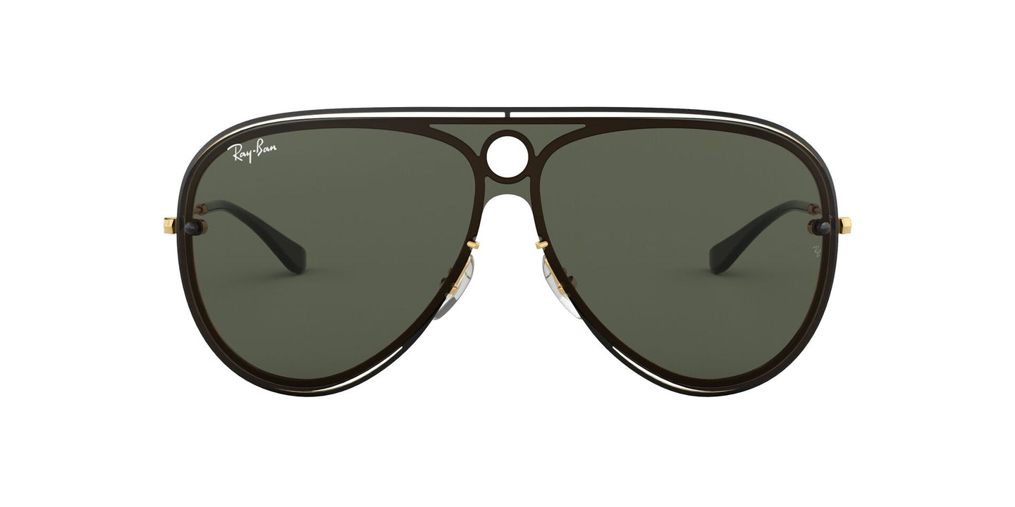 Ray Ban - RB3605N Black/Gray Aviator Unisex Sunglasses - 32mm