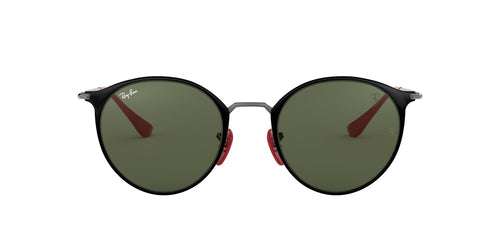 Ray Ban - RB3602M  Black Round Unisex Sunglasses - 51mm