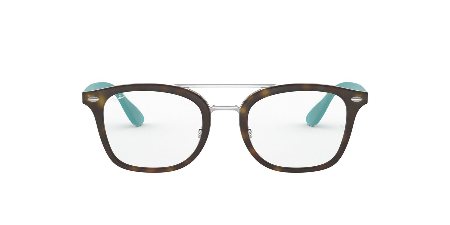Ray Ban Jr - RY1585 Havana Square Kids Eyeglasses - 45mm