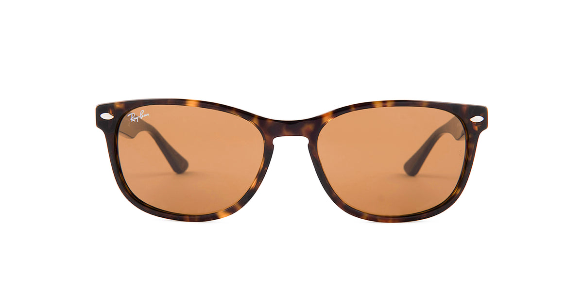 Ray Ban - RB2184 Havana/Brown Square Unisex Sunglasses - 57mm