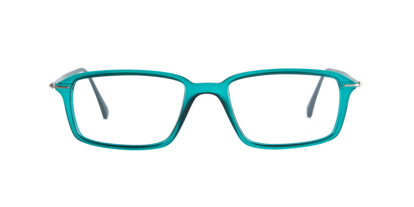 Ray Ban Rx - RX7019 Green Rectangular  Eyeglasses - 50mm