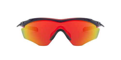Oakley - M2 Frame XL Navy/Ruby Shield Men Sunglasses - 45mm