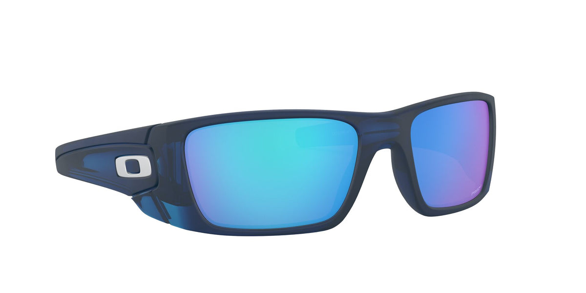 Oakley - Fuel Cell Blue/Sapphire Rectangular Men Sunglasses - 60mm