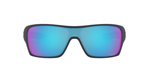 Oakley Turbine Rotor Black / Blue Lens Sunglasses