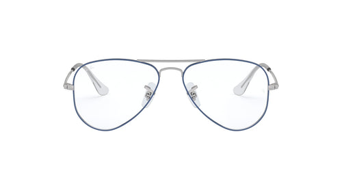 e52d93279b484 Ray-Ban Jr. RB1089 Blue   Clear Lens Eyeglasses