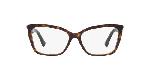 Valentino - VA3032 Havana Cat Eye Women Eyeglasses - 53mm